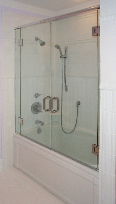 Header on Tub with Dual Doors